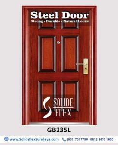 Steel Door Pintu Besi GB235L