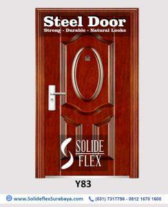 Steel Door Pintu Besi Y83