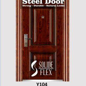 Steel Door Pintu Besi Y104 Bandung