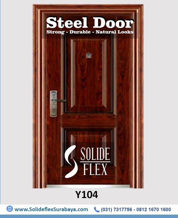 Steel Door - Y104